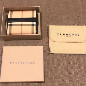 Burberry Nova Check Wallet
